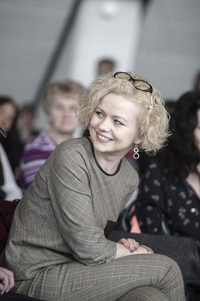 Aktrise Dita Lūriņa